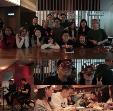 Our Gurus gathered for a wonderful night of food, carols and gift exchange!