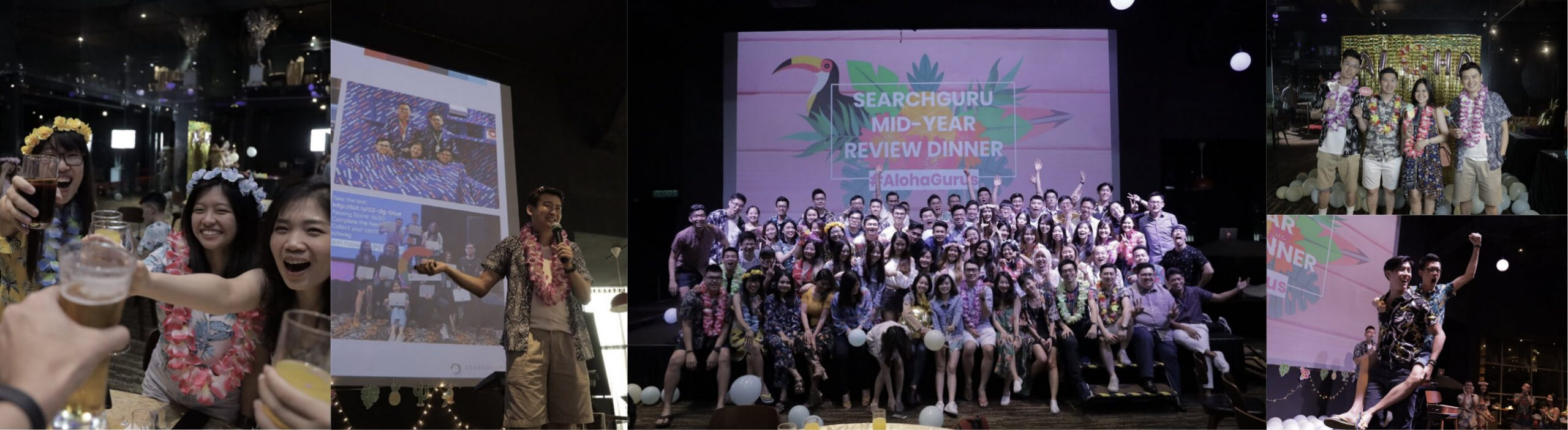 Our Mid-Year Luau was full of food, fun and laughter