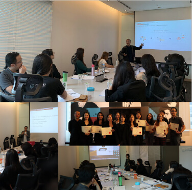 An insightful digital marketing training completed with BBDO Malaysia, Co-labs, Sunway Resort Hotel, SimilarWeb & Bliss Box World.