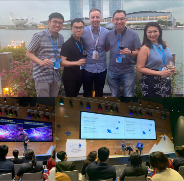 YC, Becky, Eric & Justin At The Google Partner Summit 2019.