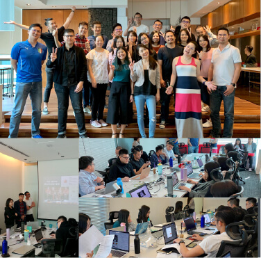 Our Gurus got into teams and challenged each other to a friendly Integrated Marketing pitch exercise with Emily Lim, the former MD of Lion & Lion.