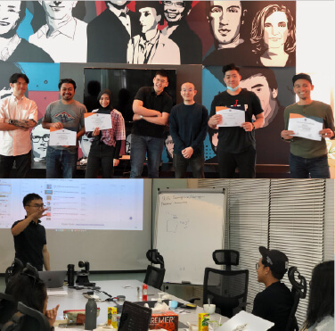 Our first digital marketing training after MCO with the teams from C27 and Etiqa. We wish you the best results in your upcoming campaigns!